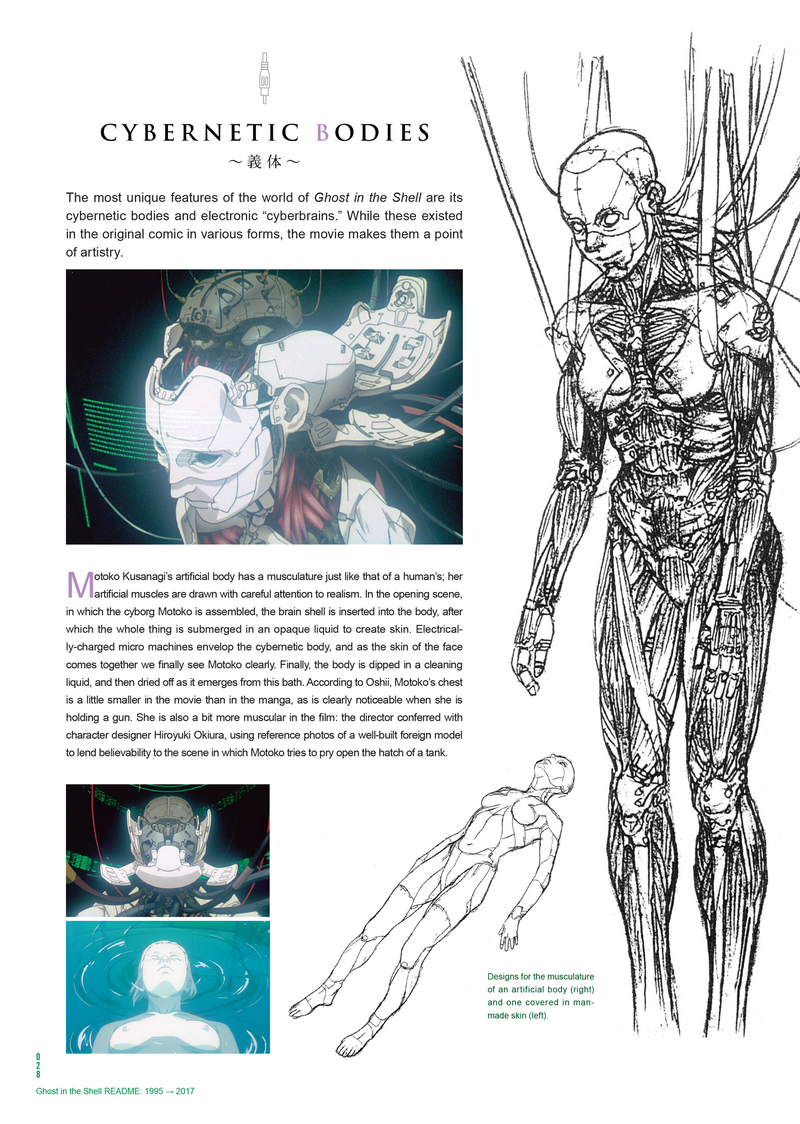 The Stunning Art Behind 20 Years Of Ghost In The Shell Anime