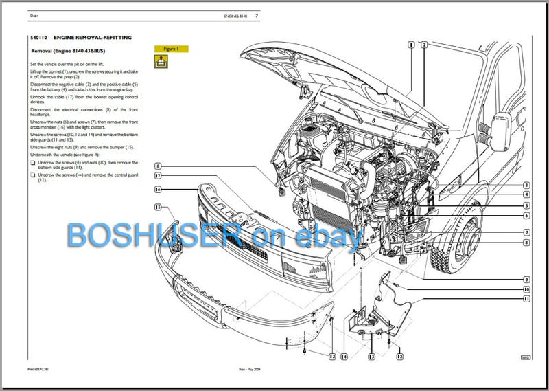 2007 to 2015 Workshop Service and Repair Manual on CD Fiat 500 Type 312
