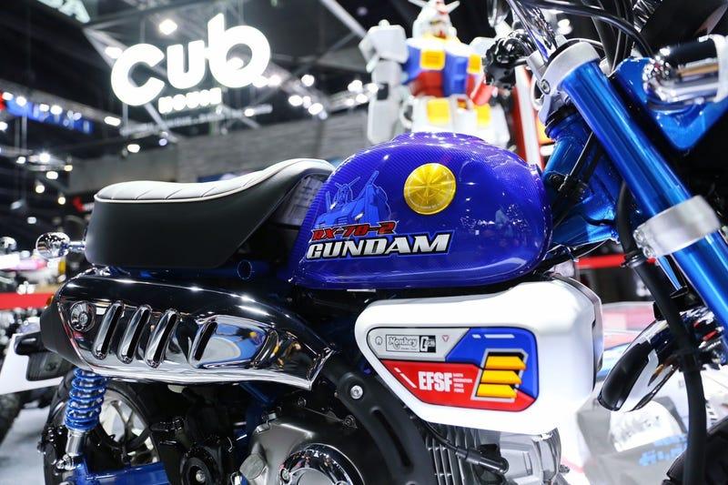 本田推出了高达主题的迷你摩托车