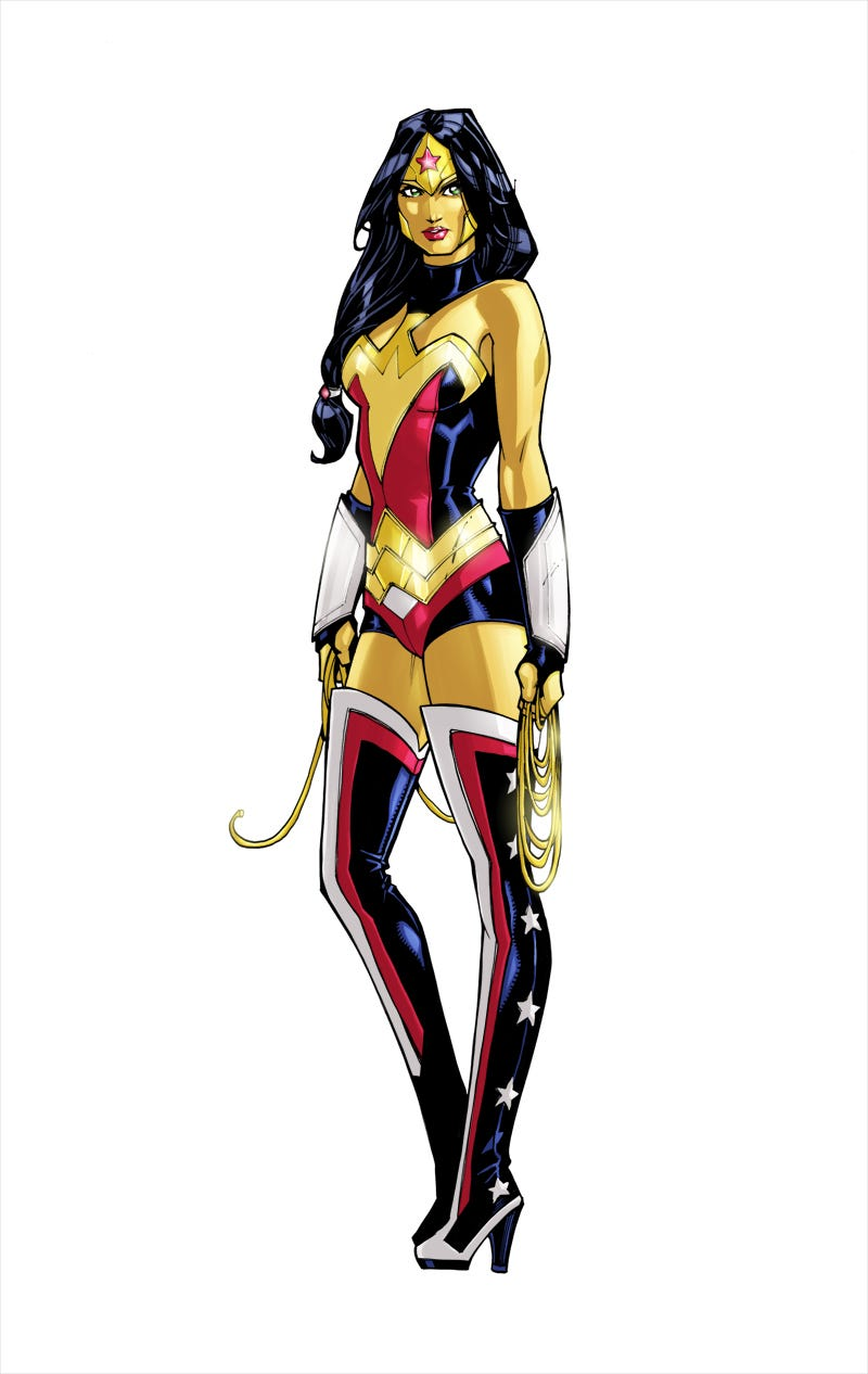 Wonder Woman Costume Designs We D Love To See On The Big Screen