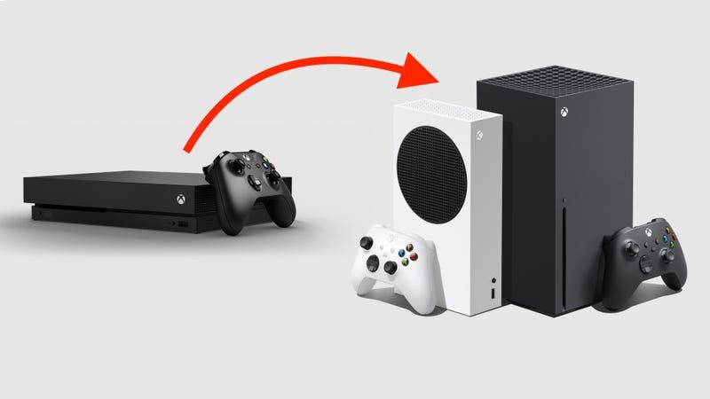如何将您的Xbox One游戏和存储移动到Xbox Series X或S上