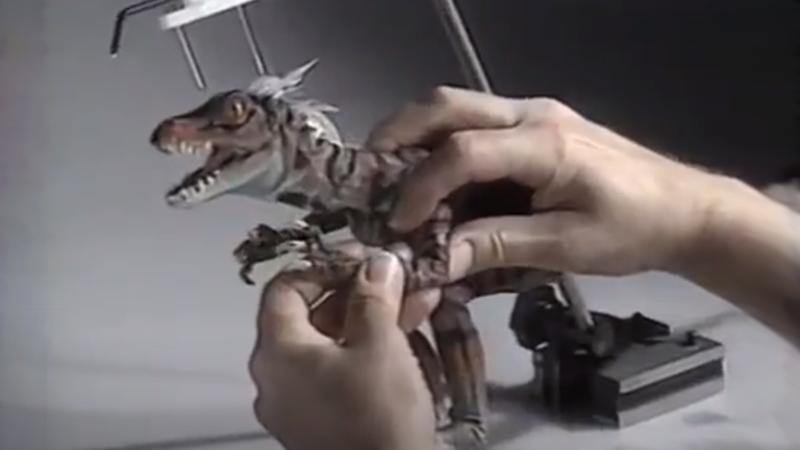 很多工作都花在让恐龙在原始愤怒中战斗上