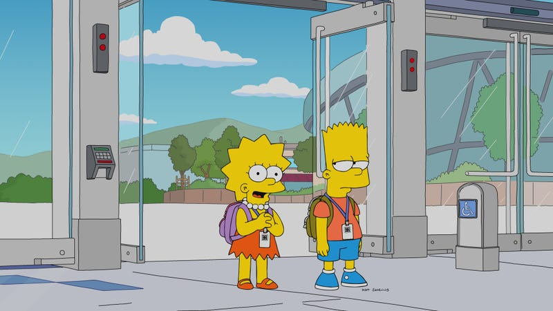 A Bewilderingly Atonal Simpsons Ditches The Deep For The Stem