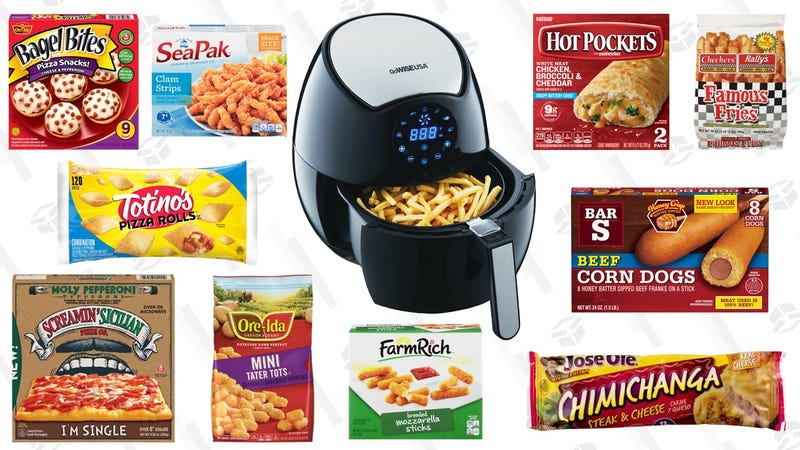 How To Cook Frozen Foods In An Air Fryer