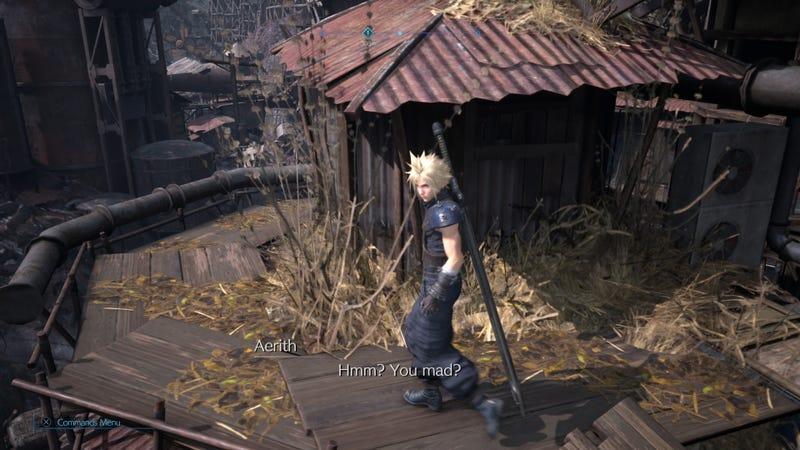 在《最终幻想七》翻拍中我爱上艾瑞斯的那一刻