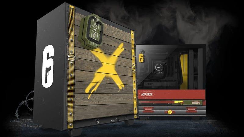 彩虹六号攻城迷的完美游戏PC机箱