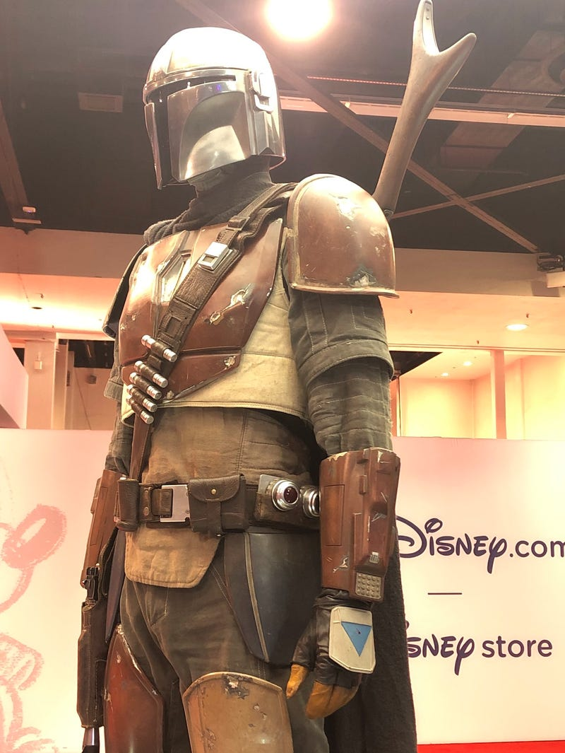 The Mandalorian Costumes Get Up Close With D23 Expo Photos