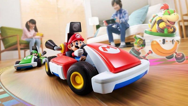 游戏周:马里奥卡丁车在你的客厅