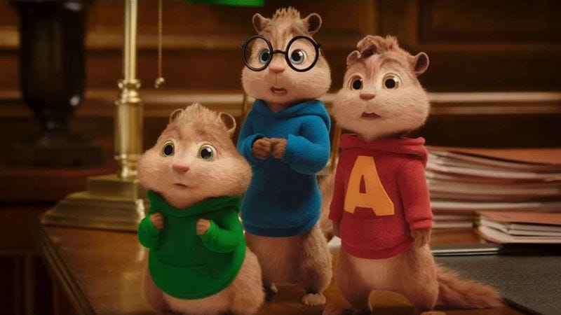 A Definitive Ranking Of The Four Alvin And The Chipmunks Movies