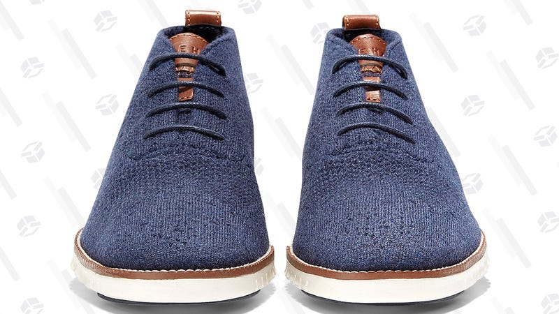 Cole Haan's Lightweight Wool Shoes Are