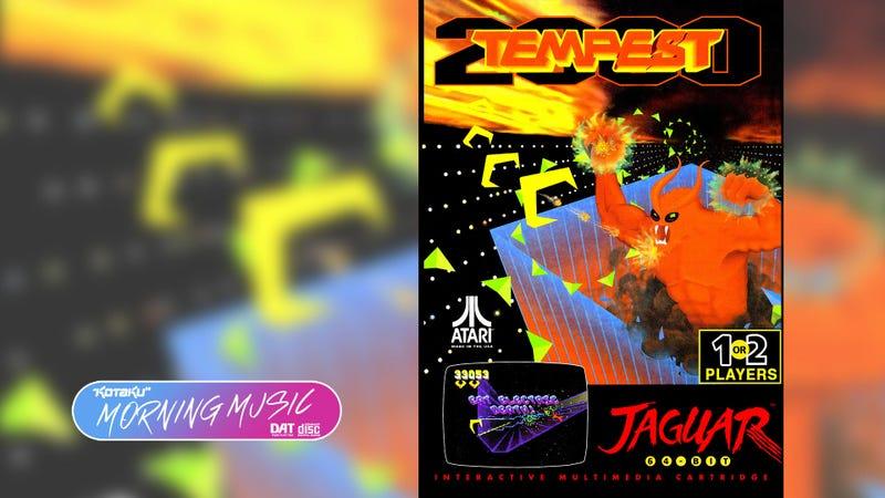 Tempest 2000(Atari Jaguar,1994)视频游戏音乐评论