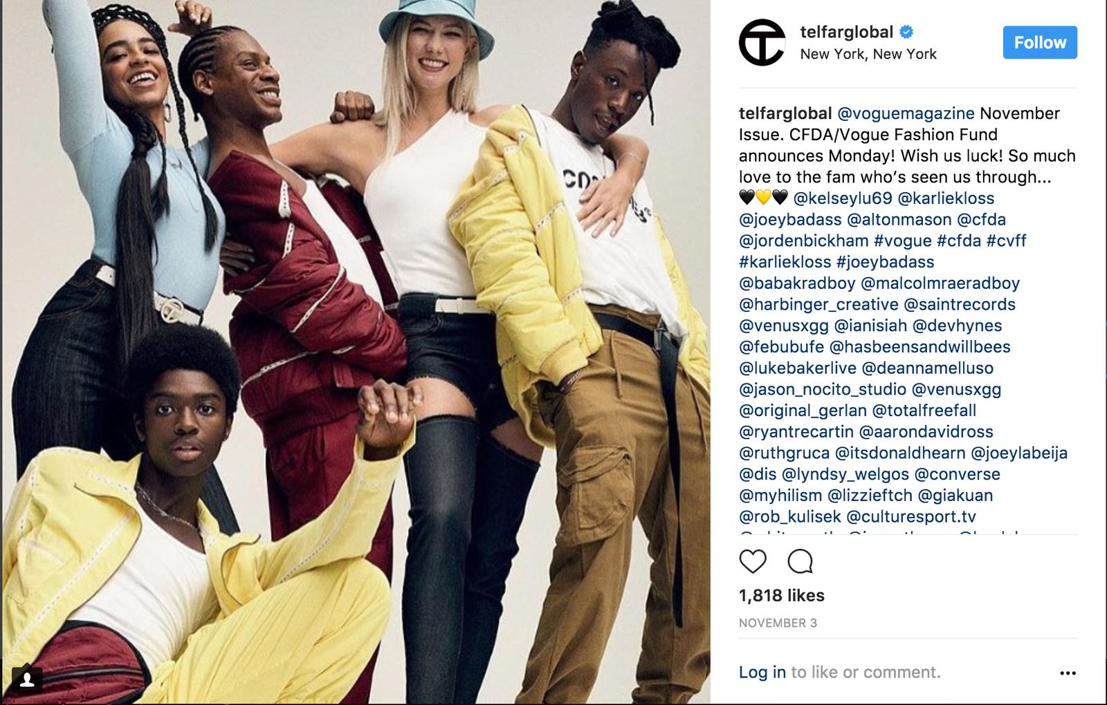 TelfarGlobal via Instagram