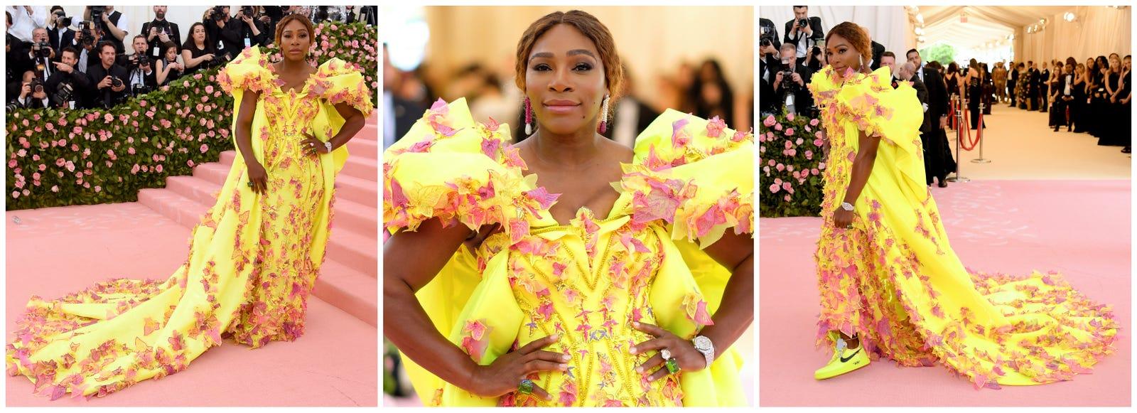 Serena Williams in Versace