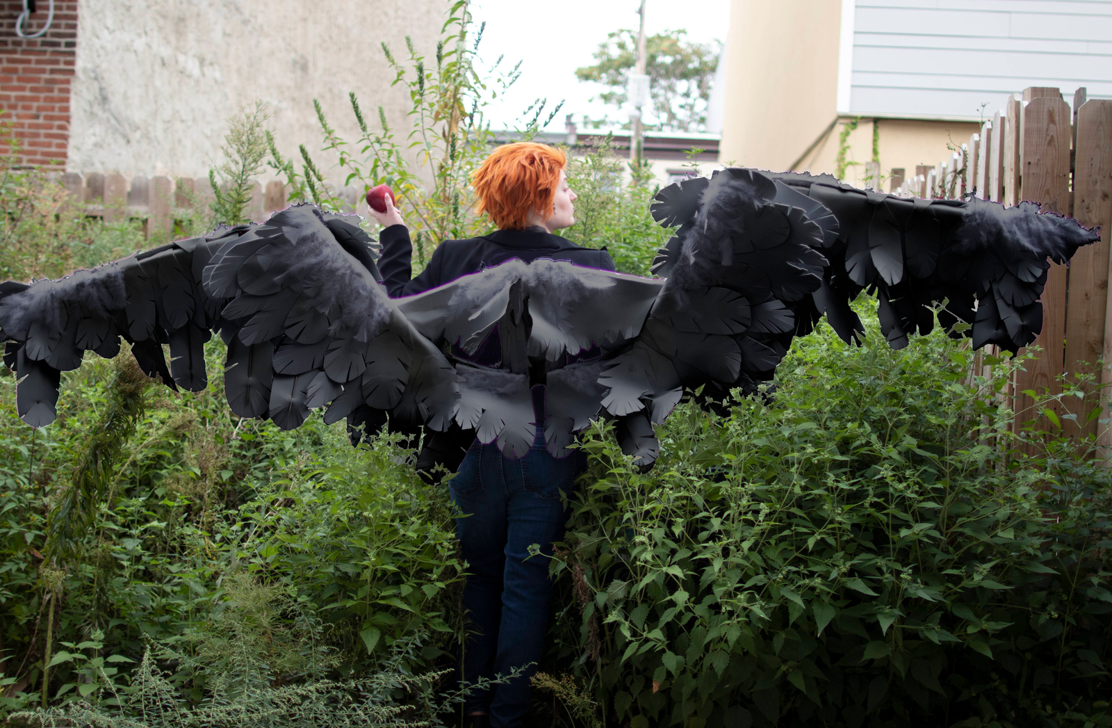 Illustration for article titled The First New Year After the Apocalypse (Good Omens Cosplay Photoshoot)