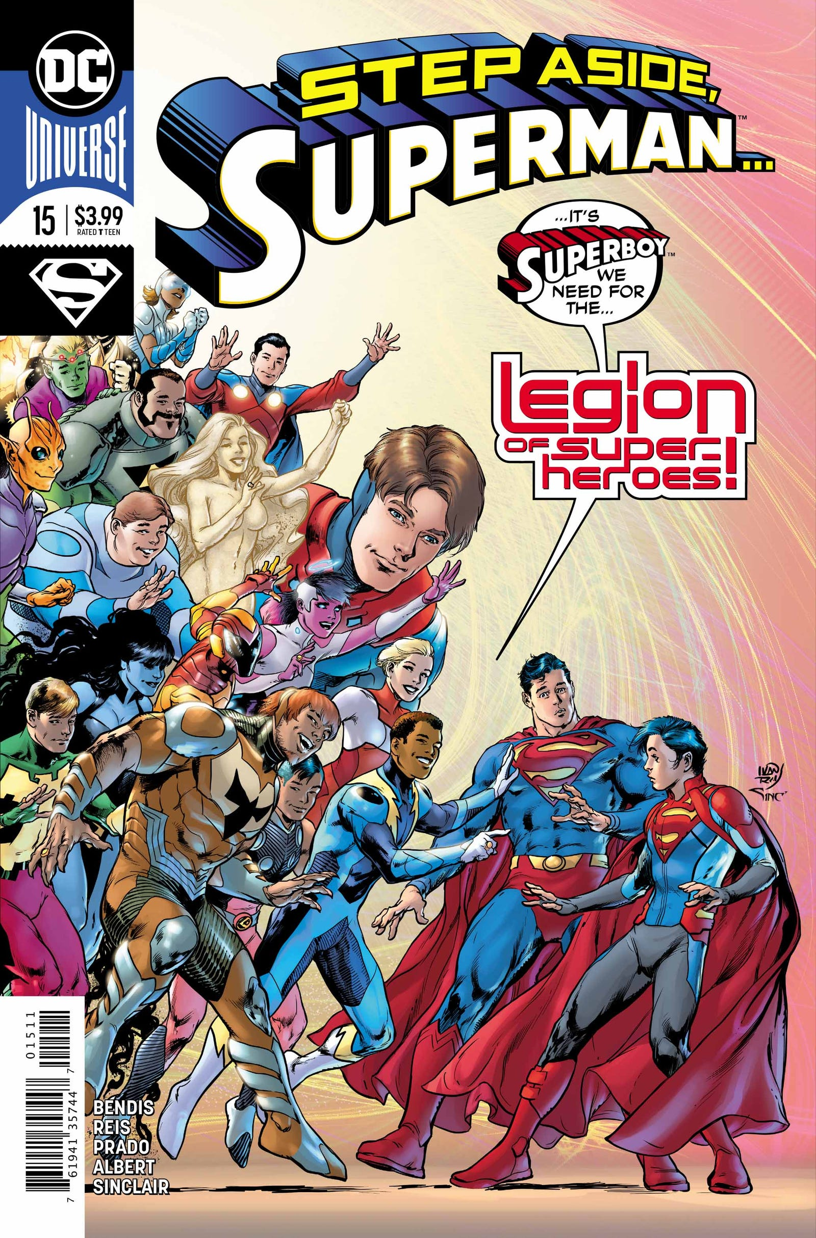 Cover by Ivan Reis, Joe Prado, and Alex Sinclair