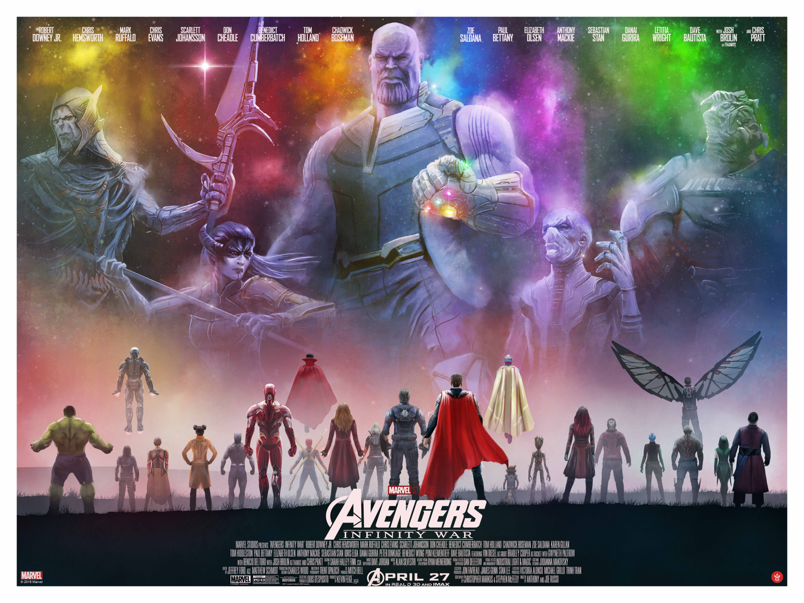 Avengers: Infinity War by Andy Fairhurst