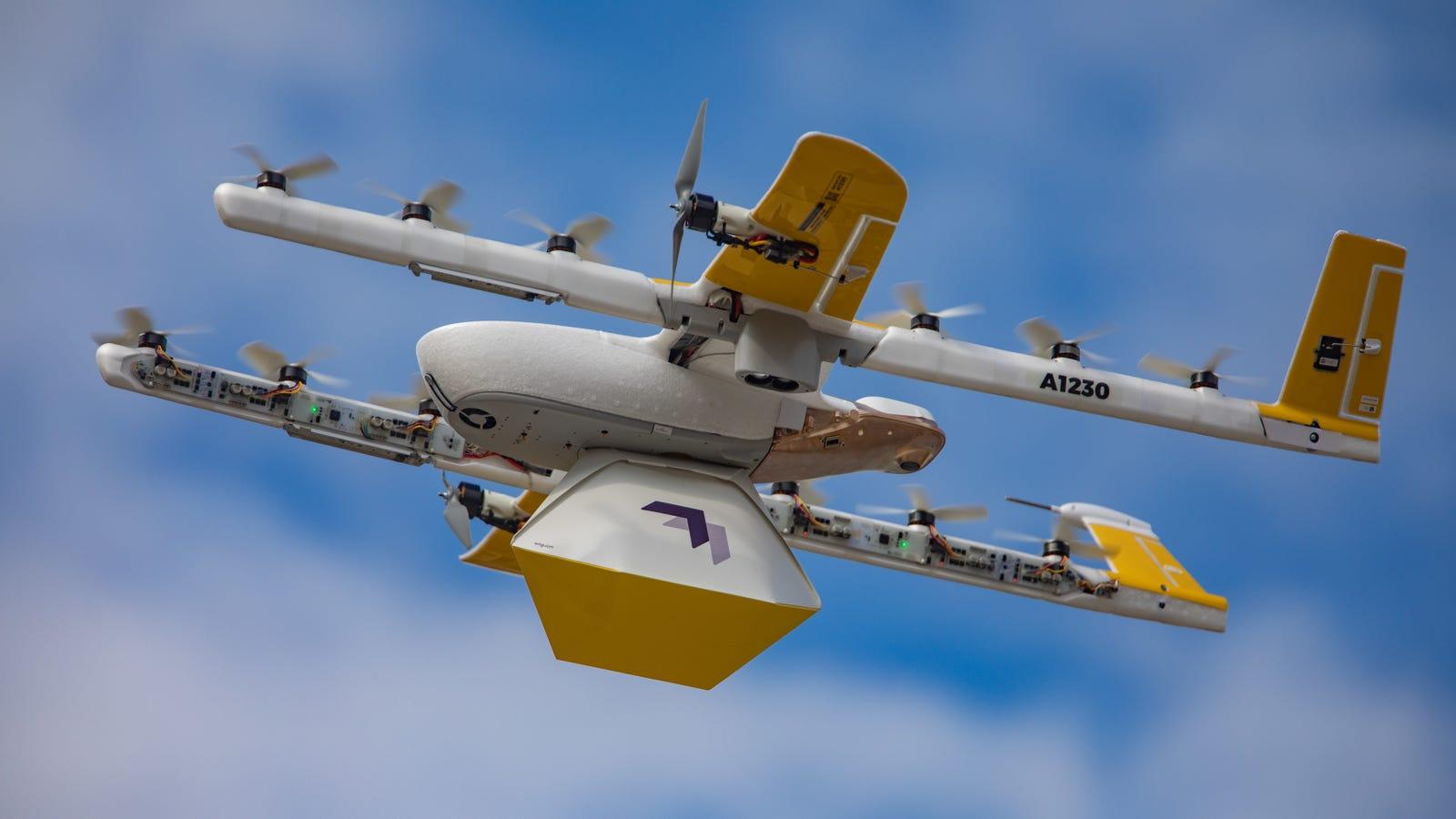 A Google drone