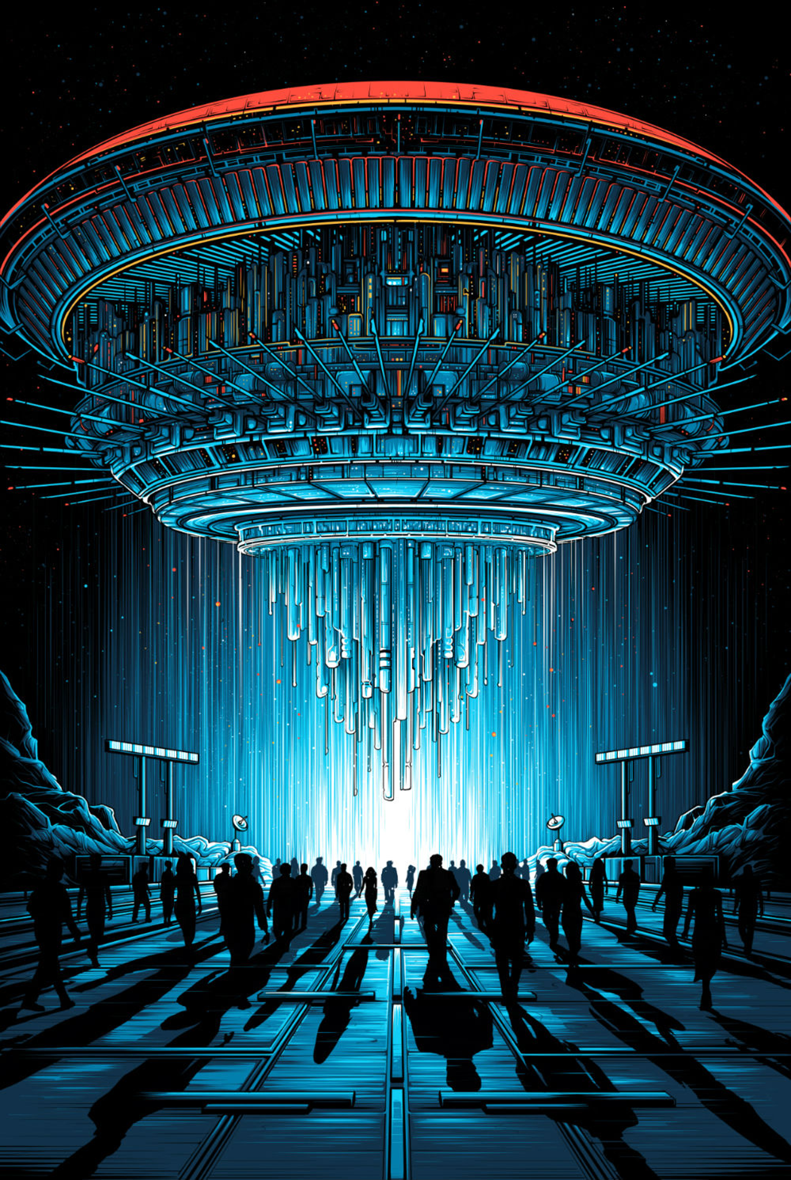 Close Encounters by by Dan Mumford