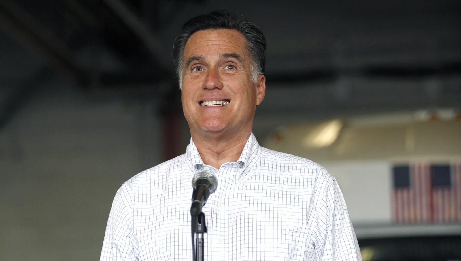 Romney Stuck In Endless Loop Of Uncomfortable Chuckling