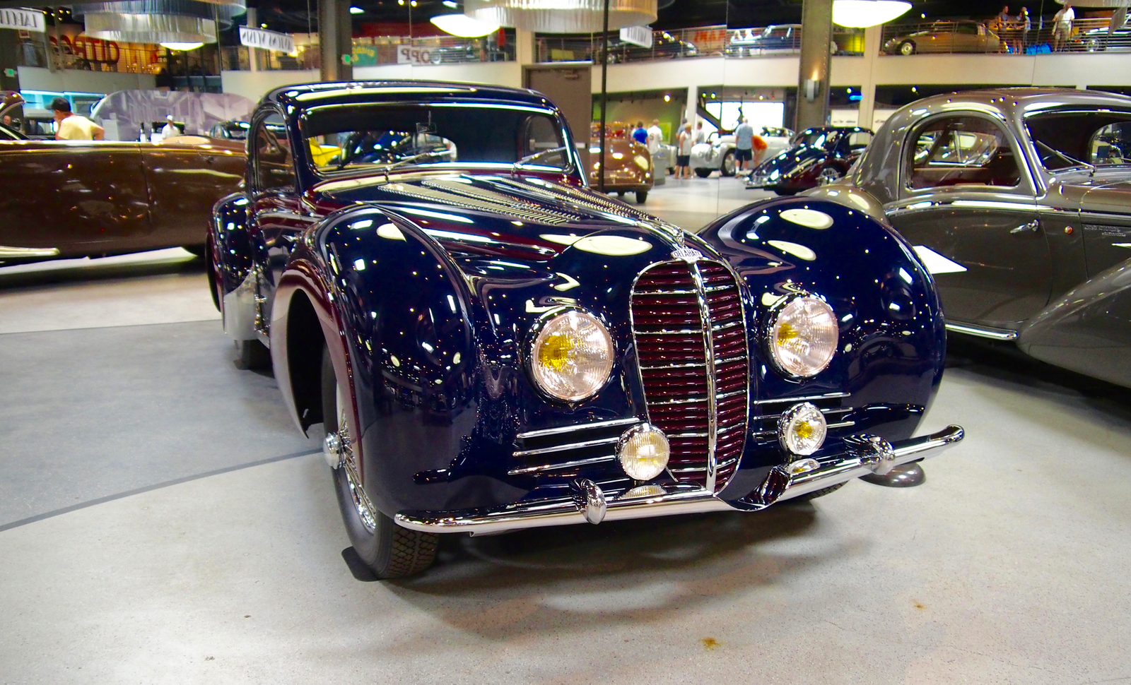 A really pretty 1938 Delahaye Type 145 V12 Coupe with body work by Henri Chapron.