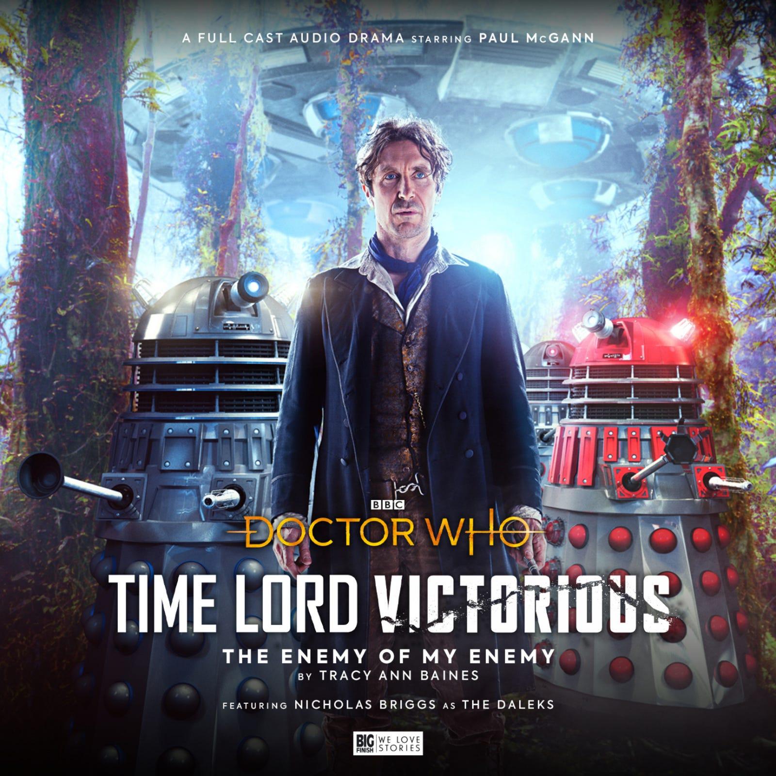 Ilustração para o artigo intitulado Naturalmente Paul McGanns Fighting Daleks on Audio para iDoctor Who / is New Event