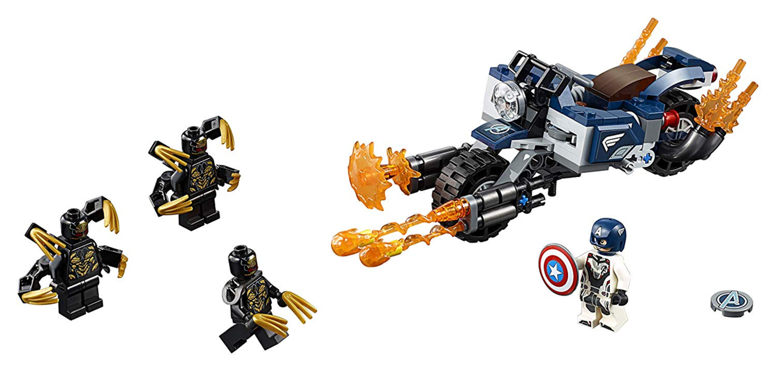Captain America: Outriders Attack, $20