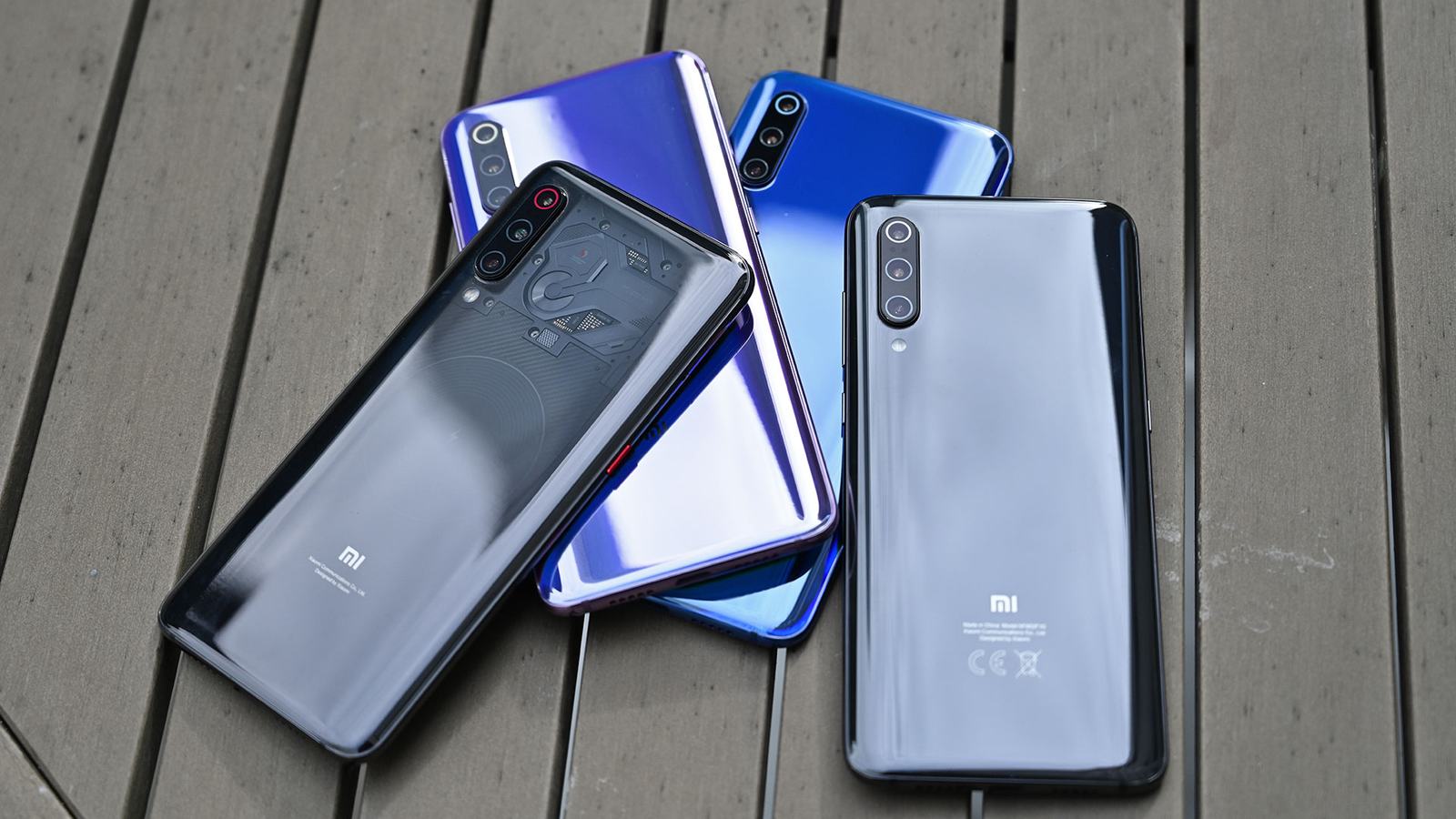 All the colors (or lack thereof) of the Xiaomi Mi 9.