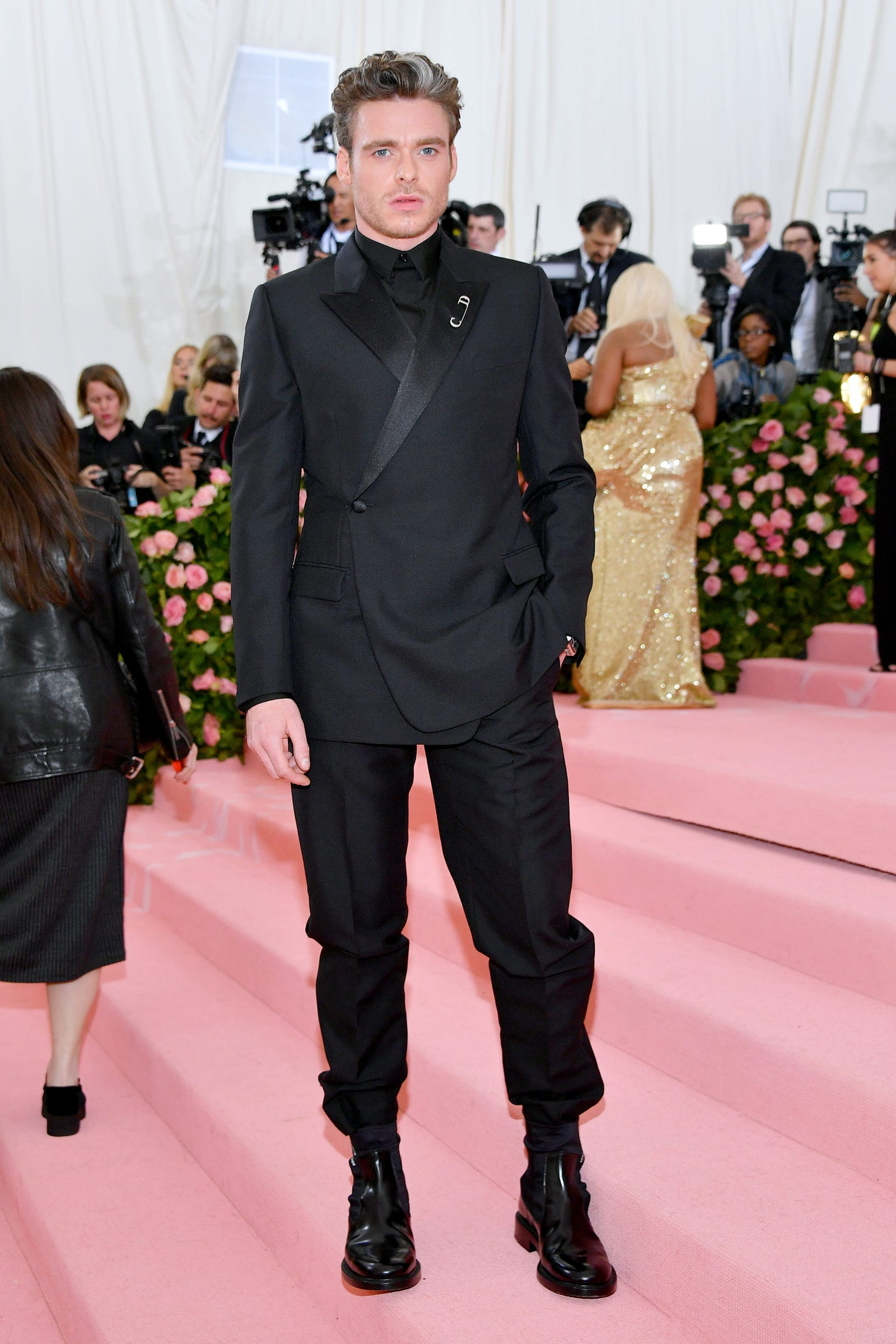 Richard Madden at the Met Gala 2019