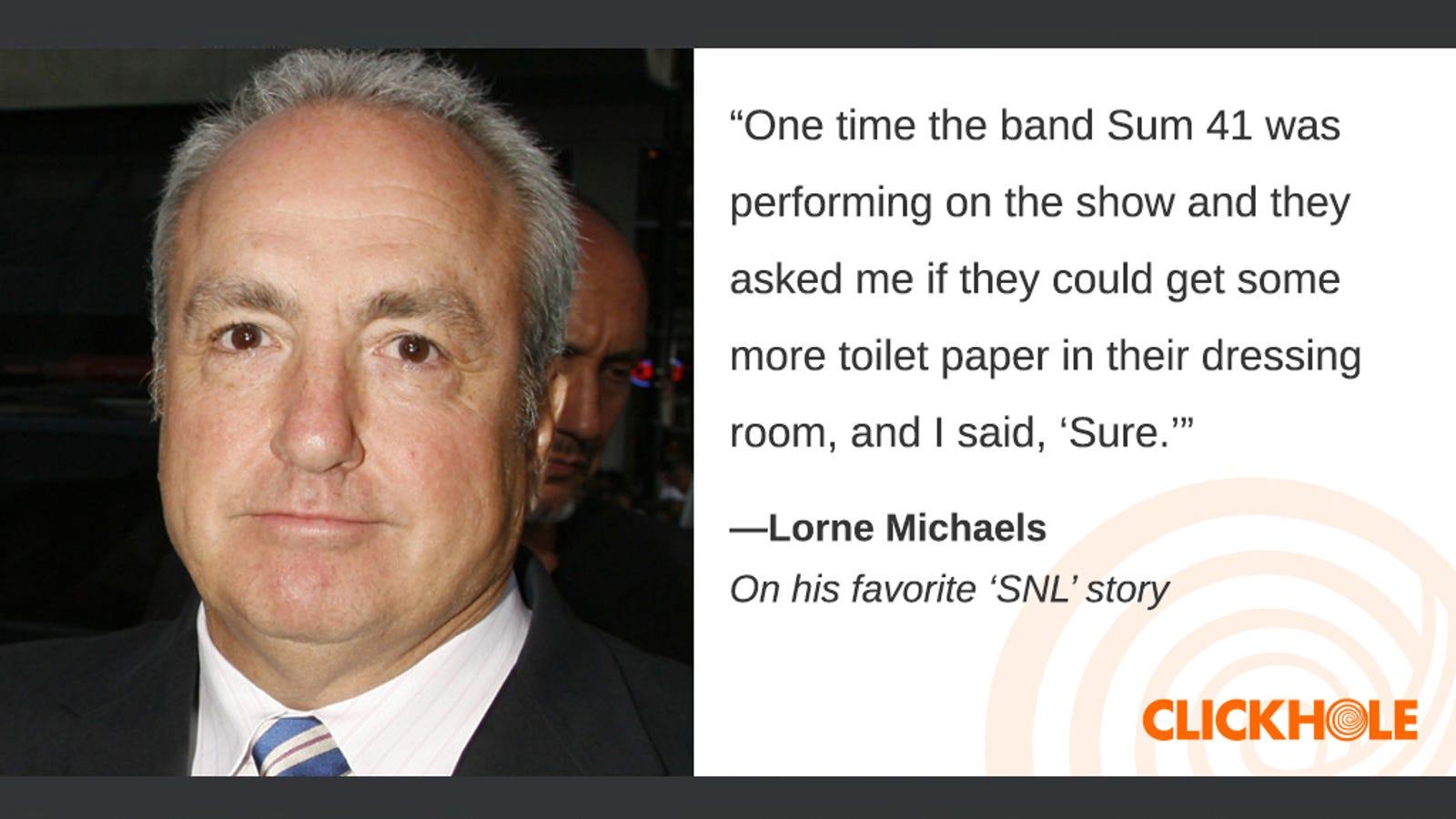 Illustration for article titled Find Out What Lorne Michaels, em/emBarack Obama, And em/emMeryl Streep Have To Sayem/em