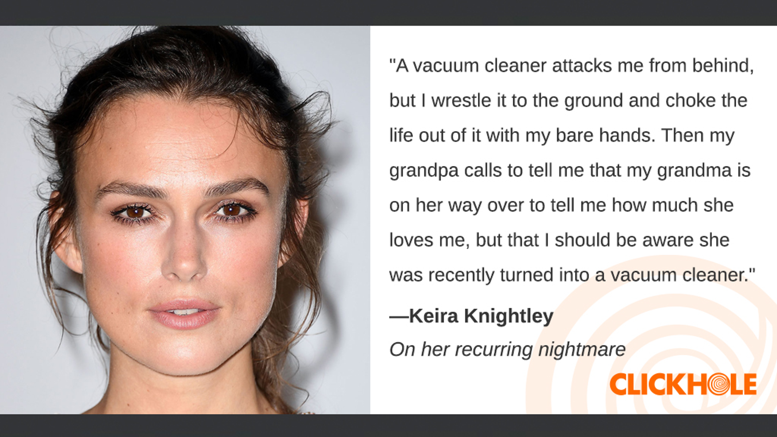 Illustration for article titled Find Out What Keira Knightley, Patrick Stewart, Jessica Biel, And More Have To Say