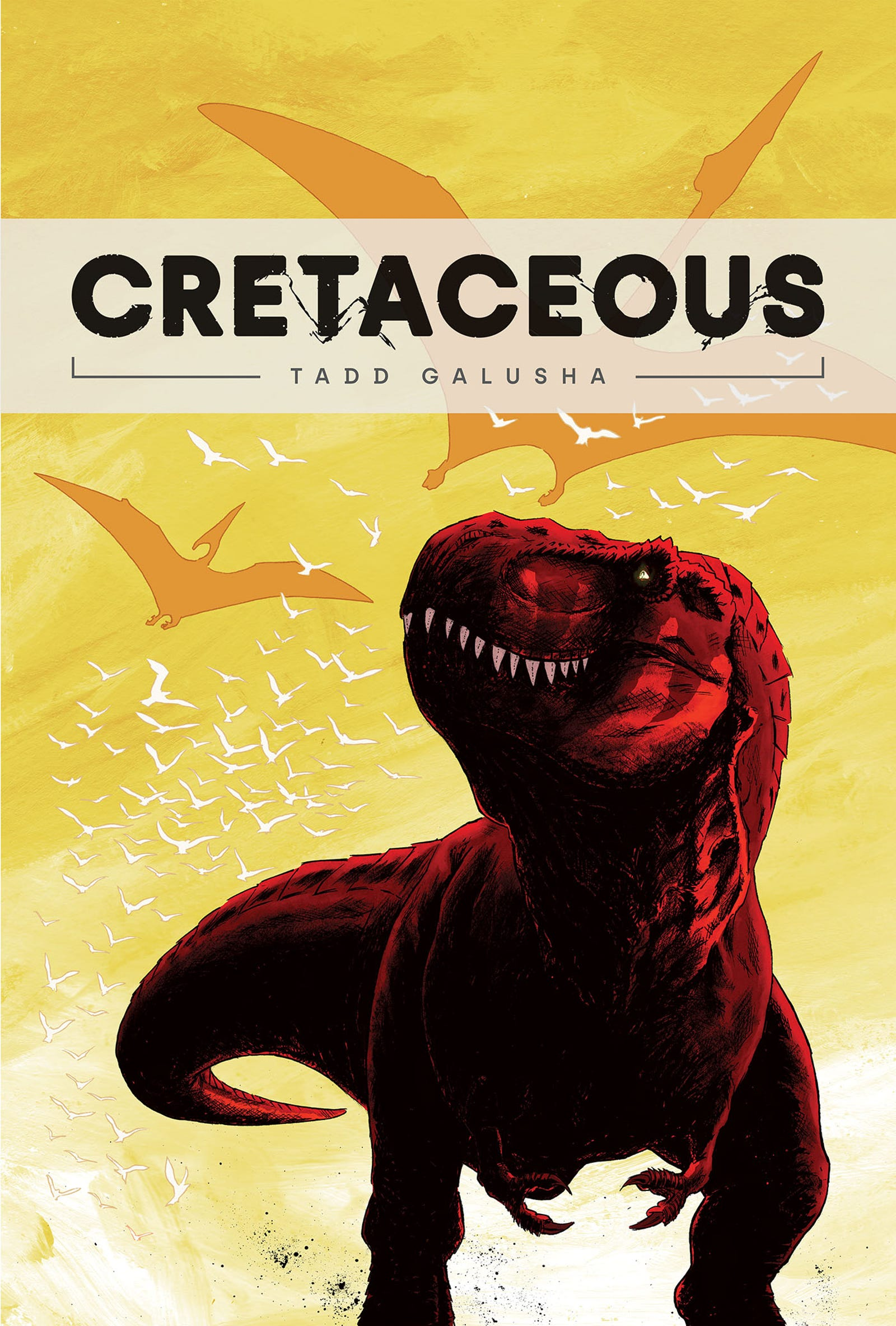 Illustration for article titled Prehistoric predators battle it out in this exclusive emCretaceousem/em/em preview
