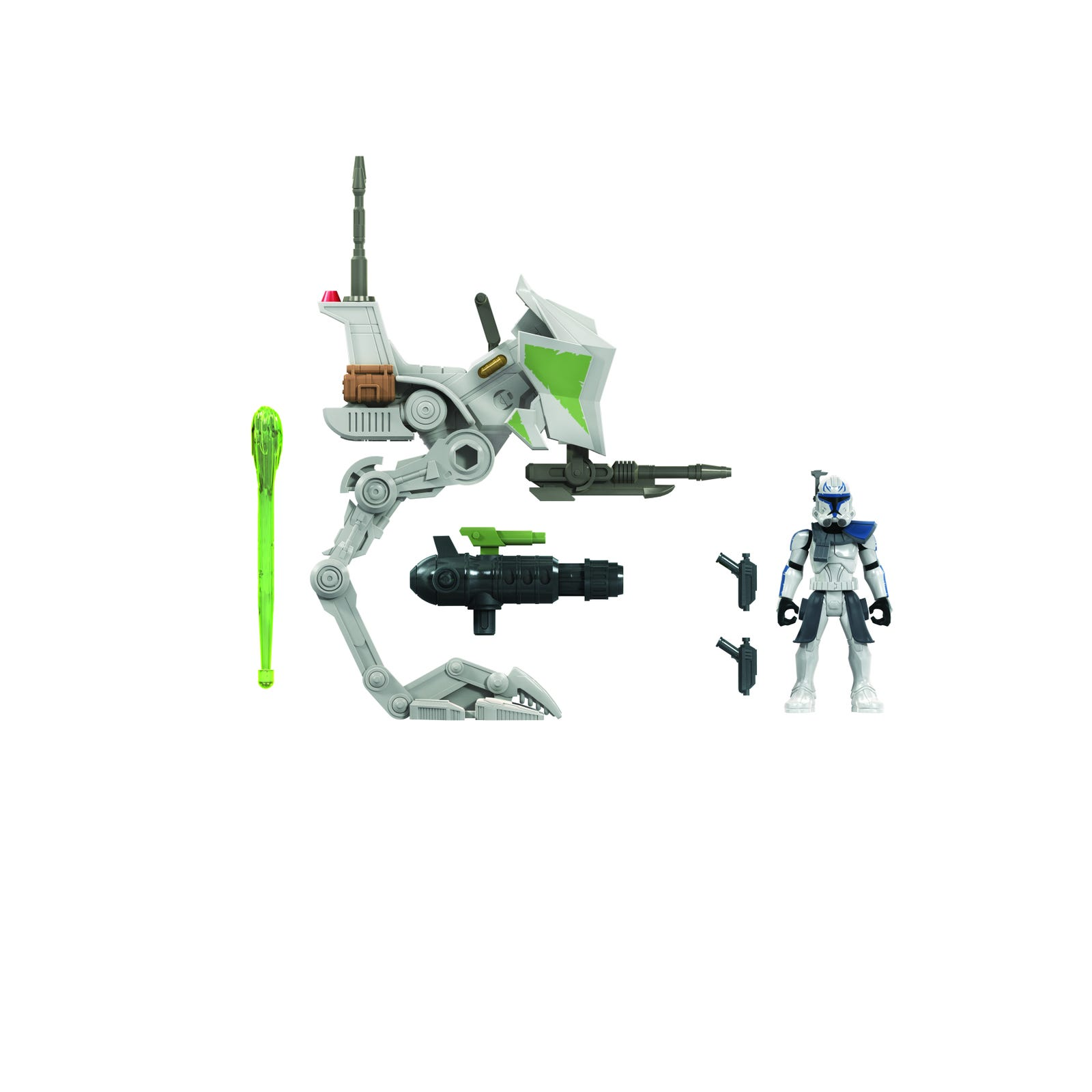 Illustration for article titled Exclusive: Baby Yoda Steals the Show in Hasbros Adorable New iStar Wars/i Vehicle Line