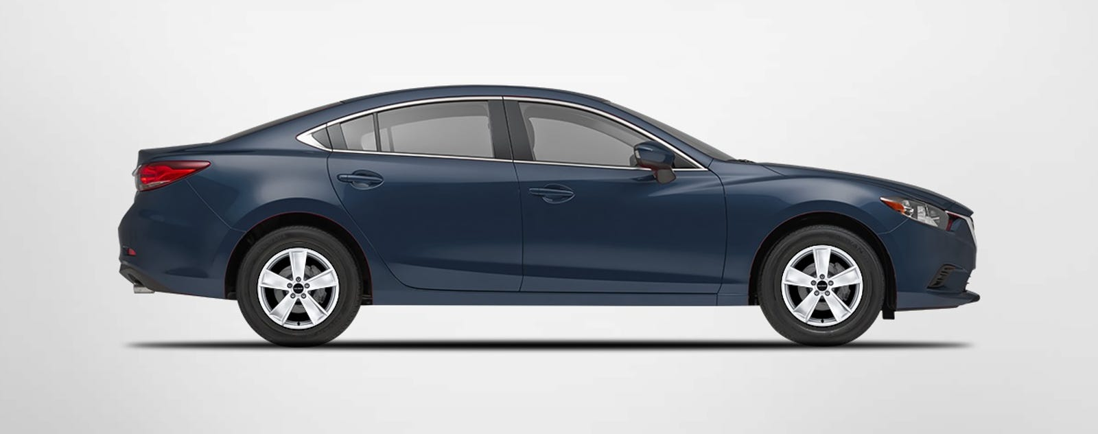 Current gen Mazda 6 with 16-inch Radius W102 wheels (OE size is 19)