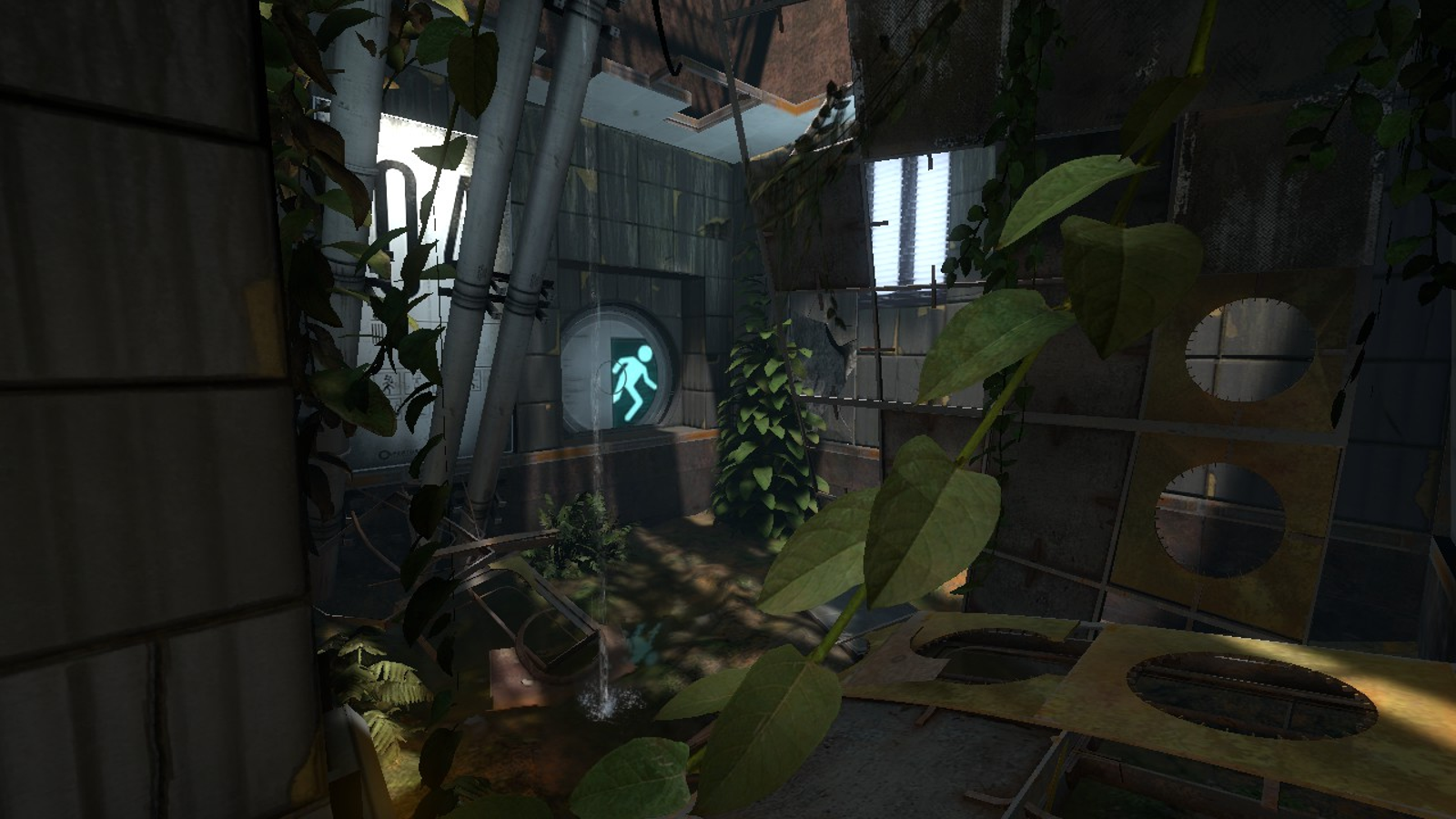 Destroyed Aperture seeks to explore the future ruins of the Portal series infamous research facility.