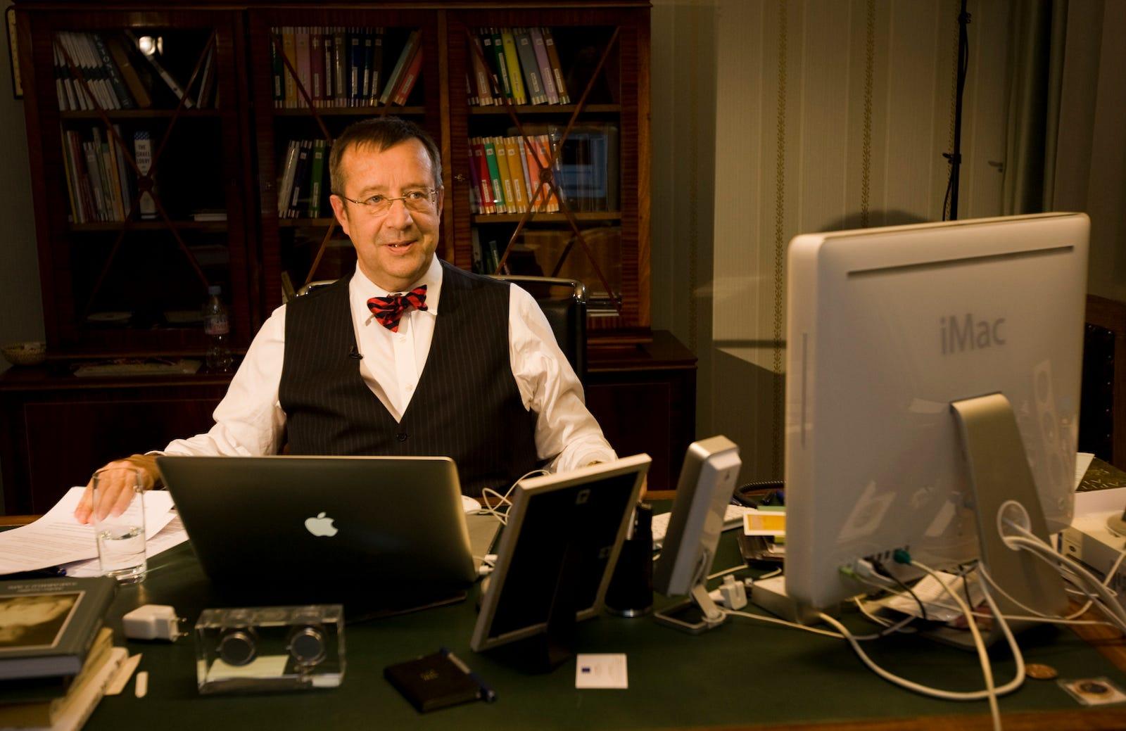 Former Estonian president