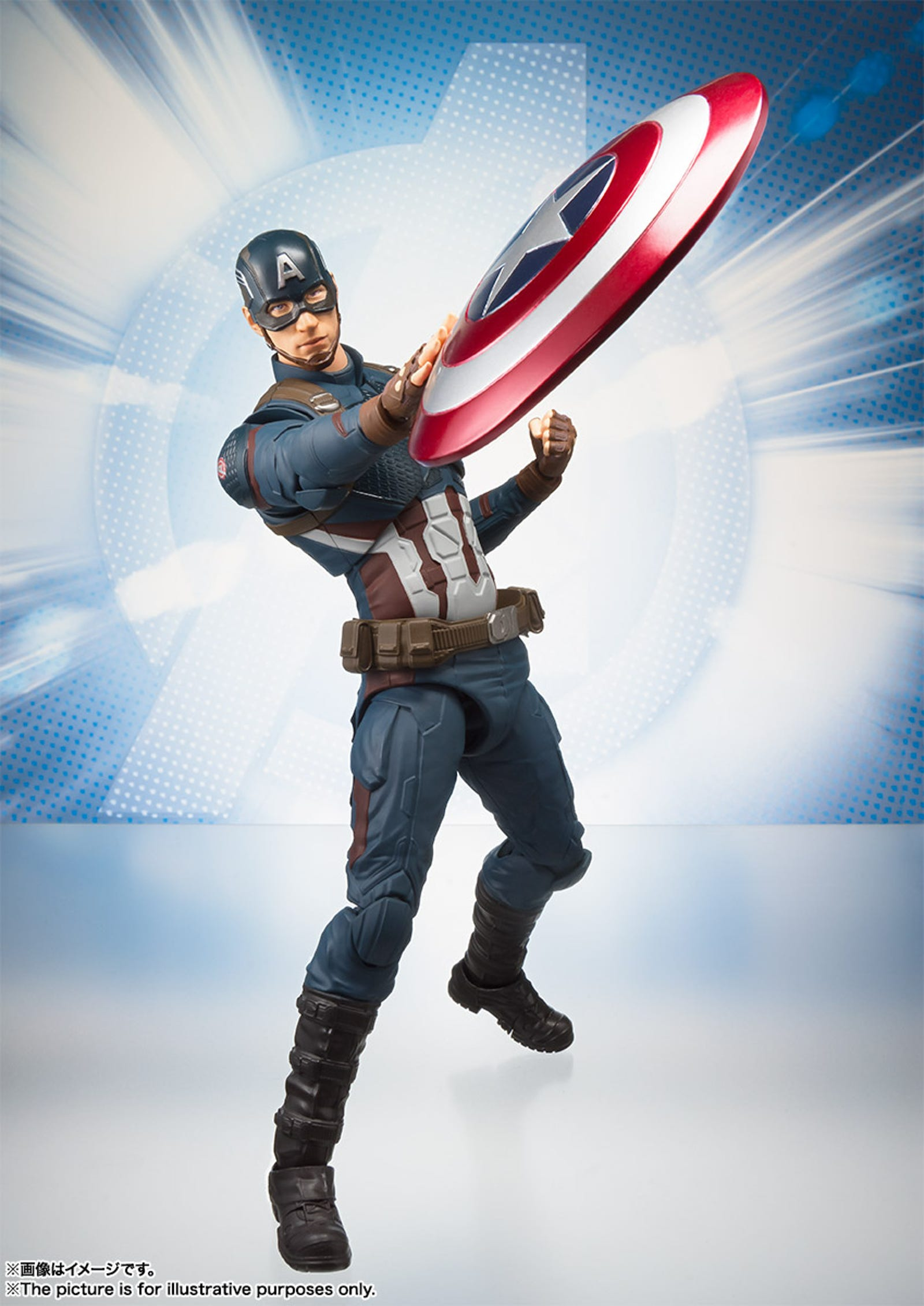Captain America will also be out in May, and also $58.