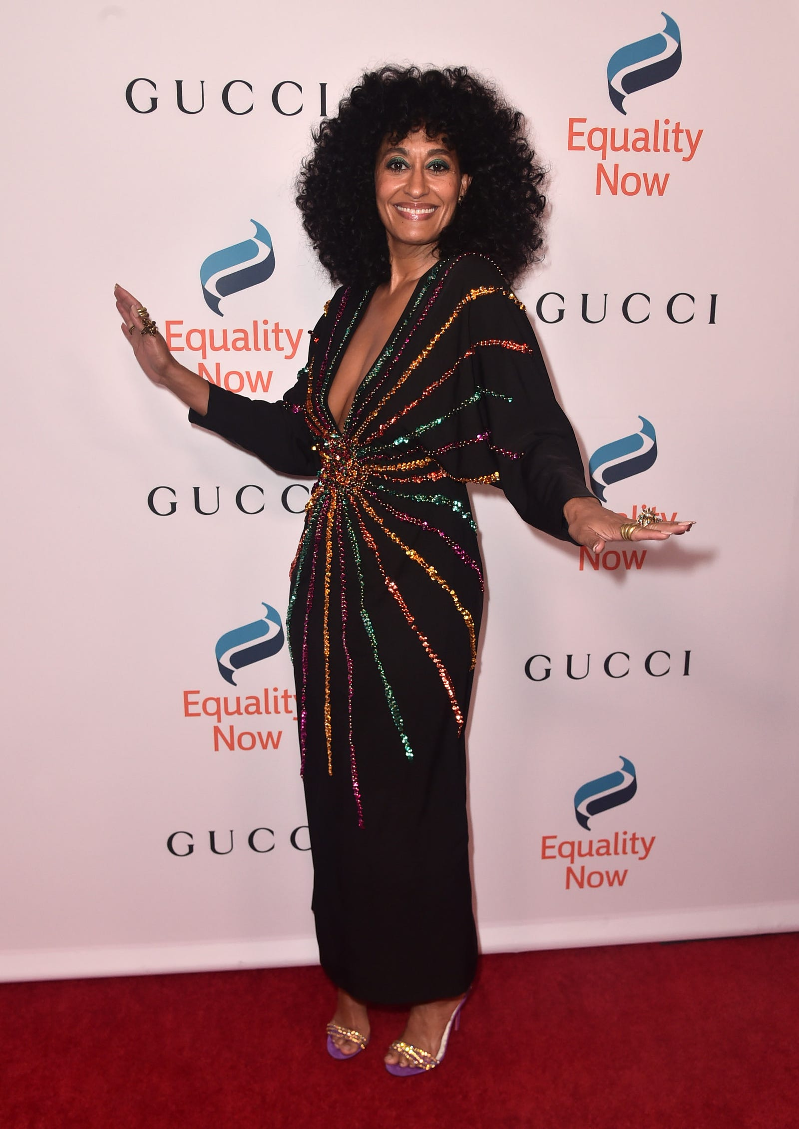 Tracee Ellis Ross attends Equality Now's Annual Make Equality Reality Gala on December 03, 2018 in Beverly Hills, California.