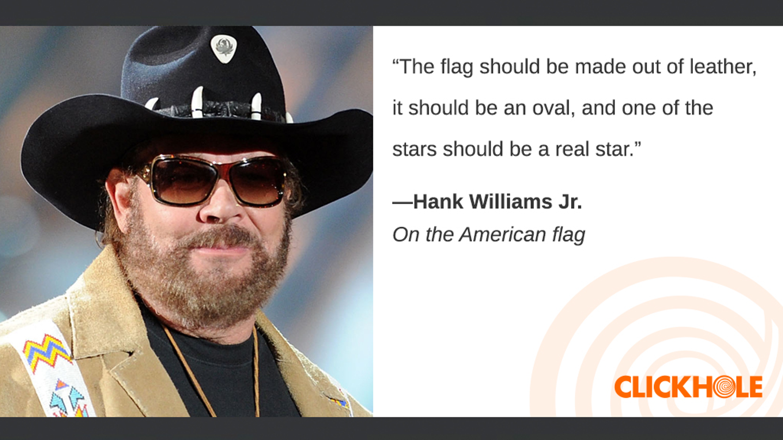 Illustration for article titled Find Out What Hank Williams Jr., Kate Middleton, Christopher Walken, And More Have To Say