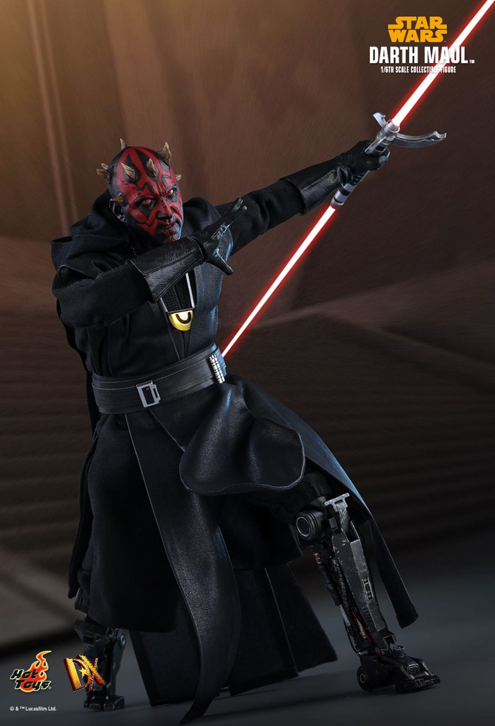 Illustration for article titled Solos Surprise Darth Maul Cameo Gets an Unsurprisingly Great Action Figure
