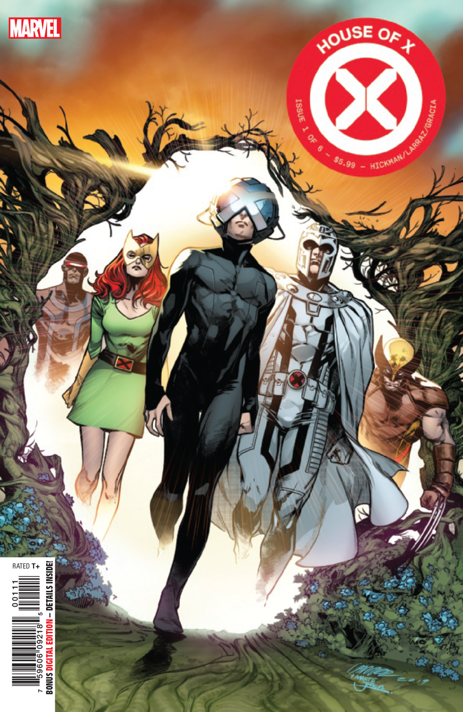 Illustration for article titled Jonathan Hickman transforms the Marvel Universe with his X-Men takeover