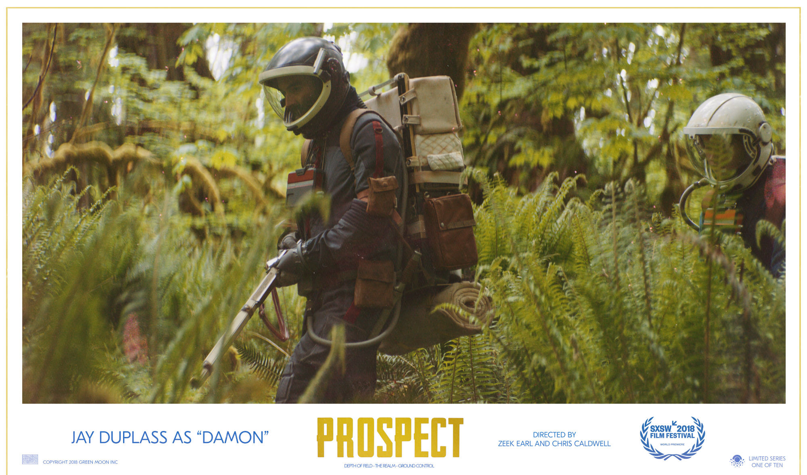 Jay Duplass as Damon in Prospect.