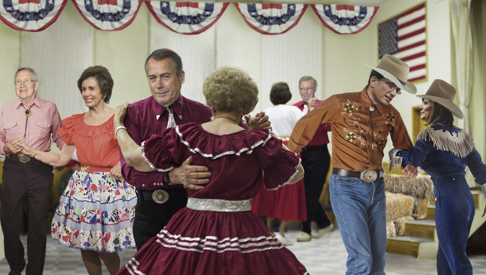 U.S. On Verge Of Full-Scale Government Hoedown