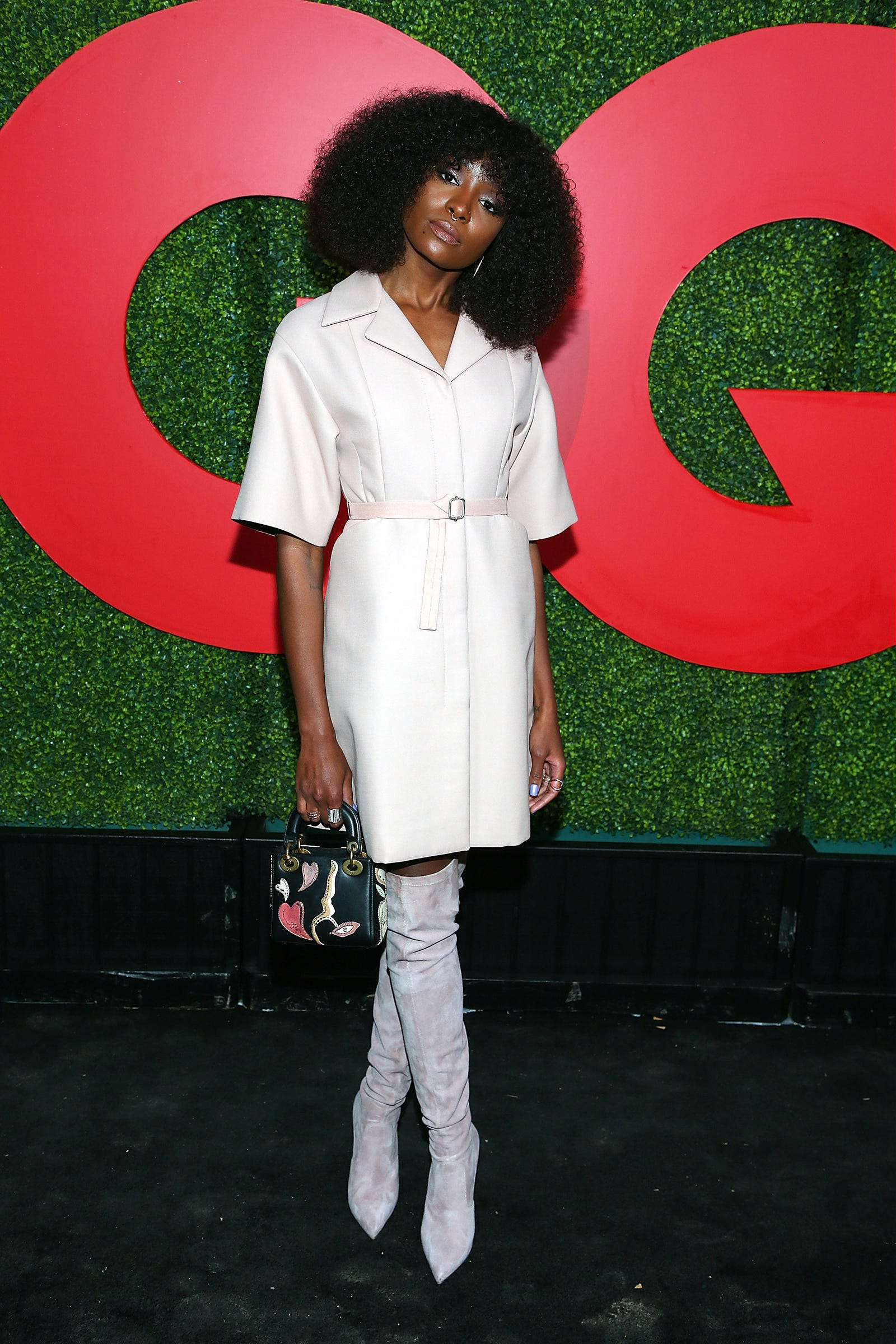 Kiki Layne attends the 2018 GQ Men Of The Year Party on December 6, 2018 in Beverly Hills, California.