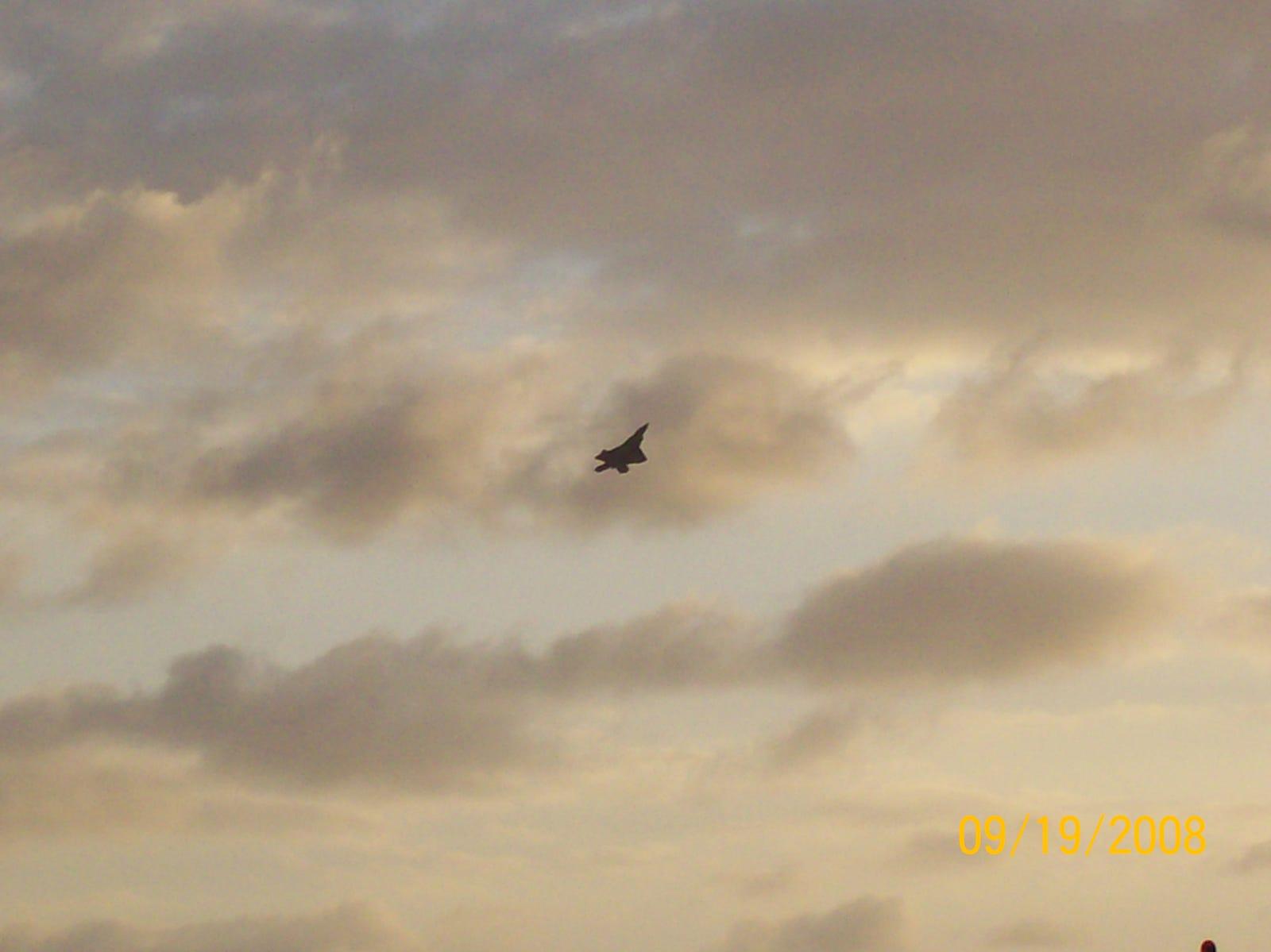 F-22 At Dusk
