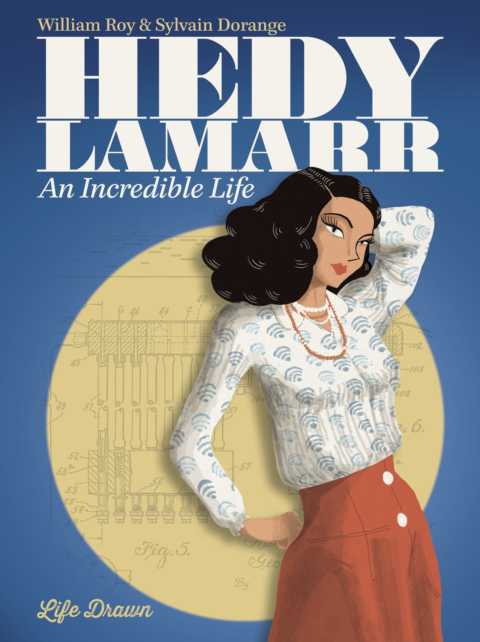 Illustration for article titled Celebrate Hedy Lamarrs Birthday With This Gorgeous Graphic Novelization of Her Life