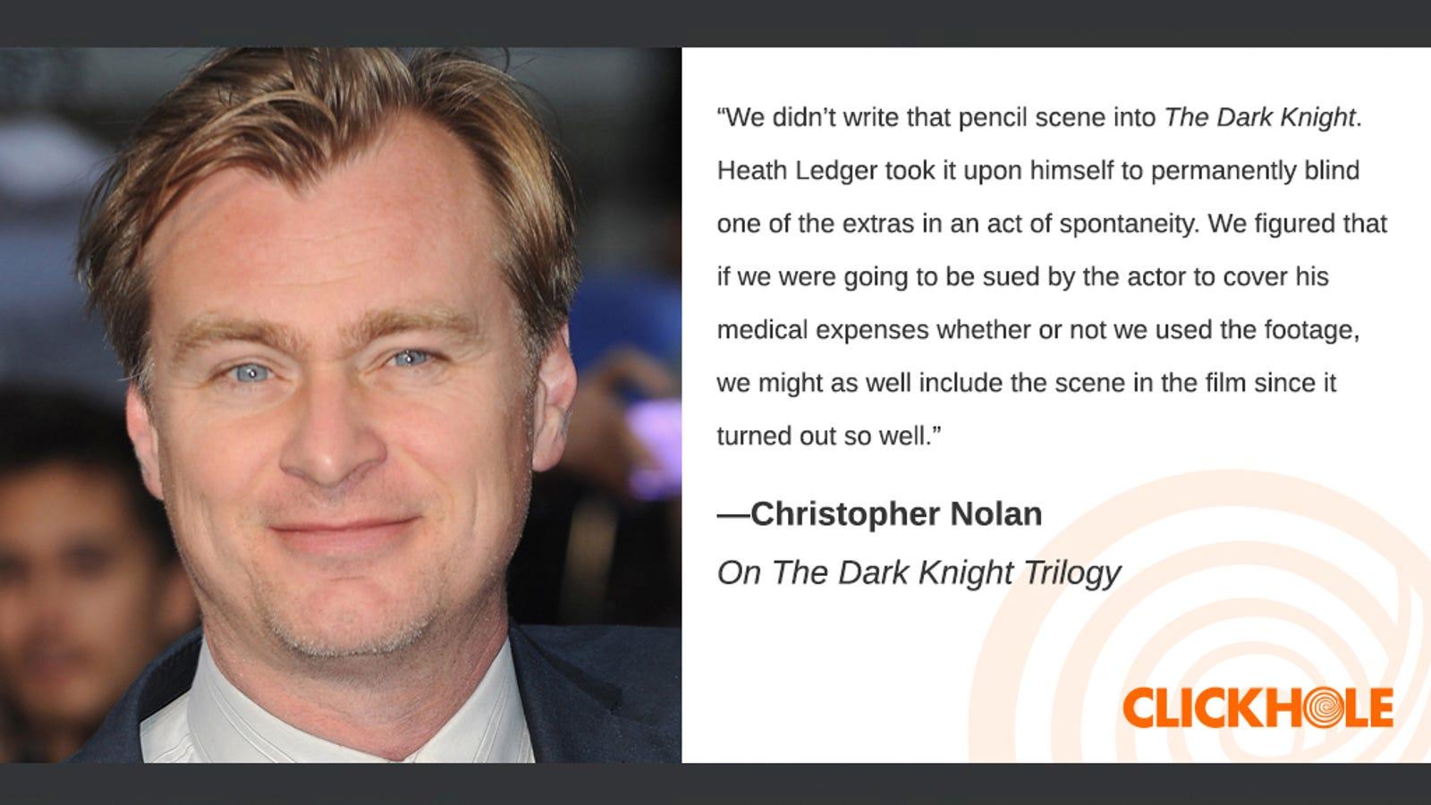 Illustration for article titled Find Out What Christopher Nolan, em/emKate Middleton, And em/emJon Hamm Have To Sayem/em