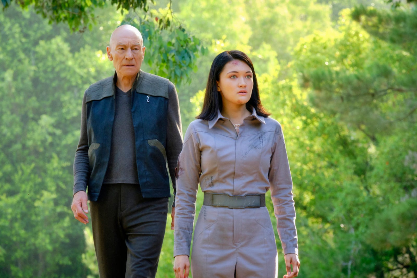 Illustration for article titled Here Are the Nostalgic iStar Trek: Picard/i Pictures You Probably Really Need Today