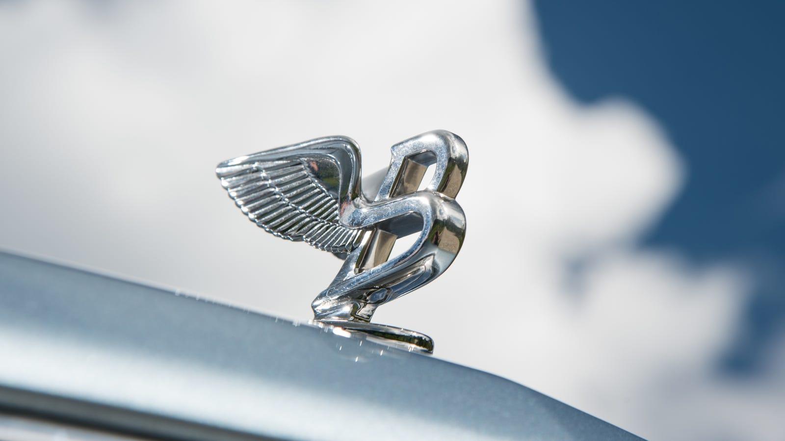 Illustration for article titled Behold Bentleys New Hood Ornament
