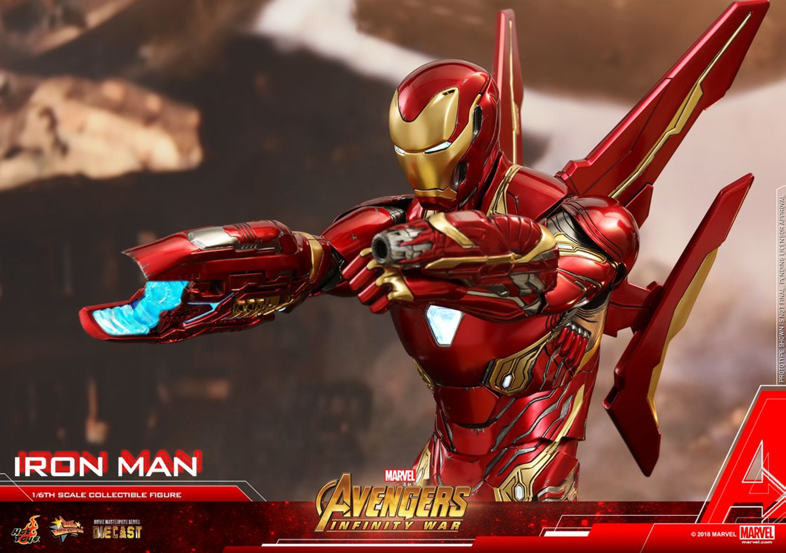 Iron Man from Avengers: Infinity War. Photo: Hot Toys.