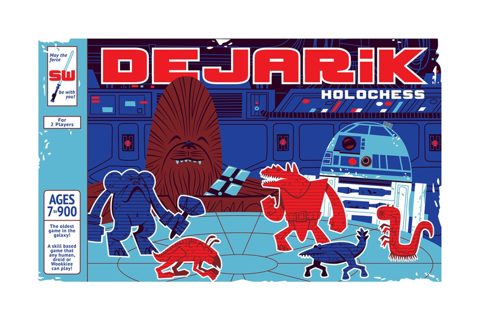 Dejarik: Holochess by Doug LaRocca